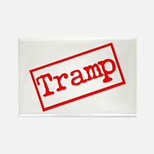 Tramp Stamp. Rectangle Magnet