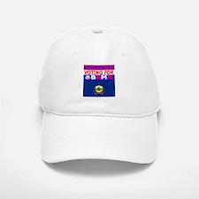 vermontobamaflag.png Baseball Baseball Cap