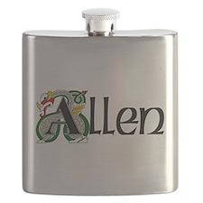 Allen Celtic Dragon Flask