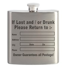 If Lost and / or Drunk Flask