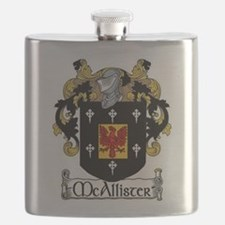 McAllister Coat of Arms Flask