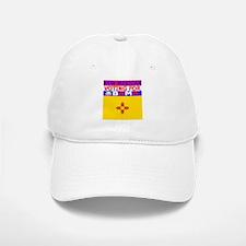 newmexicoobamaflag.png Baseball Baseball Cap