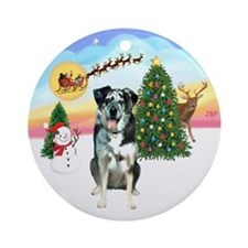 Take Off - Catahoula Leopard Dog Ornament (Round)