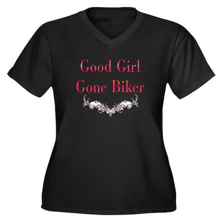 good girl gone biker-2-trans Plus Size T-Shirt