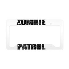ZOMBIE PATROL License Plate Holder