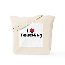 I Heart Teaching Tote Bag
