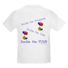 Happy Birthday to US - Twins - B Kids T-Shirt