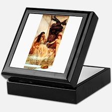 Alma-Tadema - Strigils & Sponges Keepsake Box