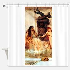 Alma-Tadema - Strigils & Sponges Shower Curtain