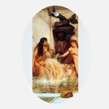 Alma-Tadema - Strigils & Sponges Ornament (Oval)