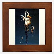 Falero - Twin Stars - Framed Tile