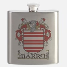 Barry Coat of Arms Flask