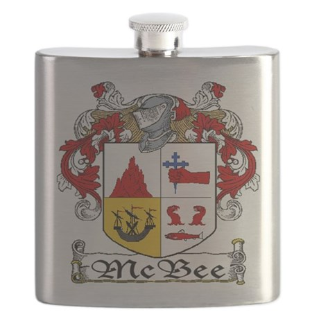 McBee Coat of Arms Flask