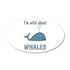 Wild About Whales Wall Decal