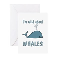 Wild About Whales Greeting Card