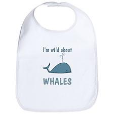 Wild About Whales Bib