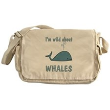 Wild About Whales Messenger Bag