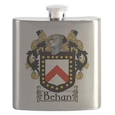 Behan Coat of Arms Flask