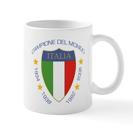 """""""Campione del Mondo"""" Scudo Mug"""