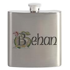 Behan Celtic Dragon Flask