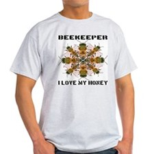 Beekeeper I Love My Honey T-Shirt