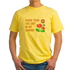 Gardener 80th Birthday T-Shirt
