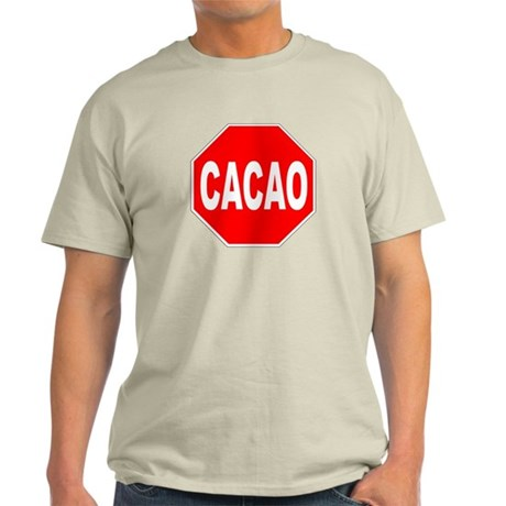 Cacao Stop Sign Light T-Shirt
