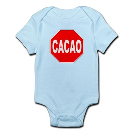 Cacao Stop Sign Infant Bodysuit