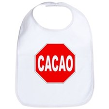 Cacao Stop Sign Bib