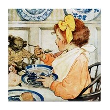 Breakfast Buddies Tile Coaster