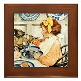 Jessie willcox smith Framed Tiles
