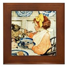 Breakfast Buddies Framed Tile