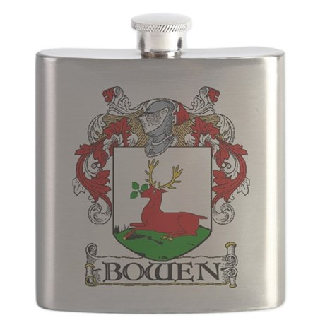 Bowen Coat of Arms Flask