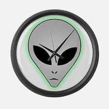 Alien Large Wall Clock