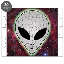 Alien with Stars Puzzle