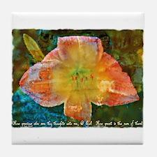 Psalm 139:17 Tile Coaster