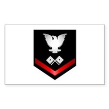 Navy PO3 Signalman Decal