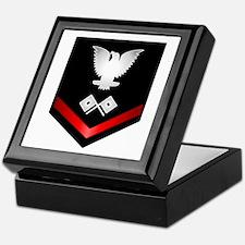 Navy PO3 Signalman Keepsake Box
