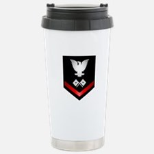Navy PO3 Signalman Travel Mug