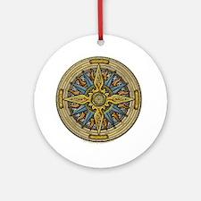 Celtic Compass Ornament (Round)