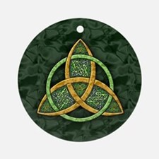 Celtic Trinity Knot Ornament (Round)