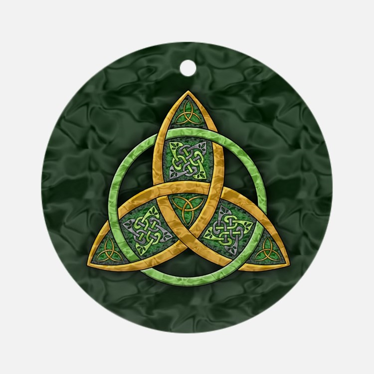 Celtic Trinity Knot Ornament (Round)