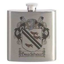 Bradshaw Coat of Arms Flask