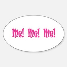Me & You Oval Decal