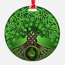 Circle Celtic Tree of Life Ornament