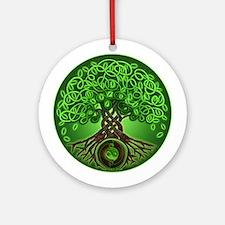 Circle Celtic Tree of Life Ornament (Round)