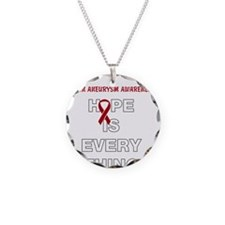 Hope for aneurysm awareness Necklace