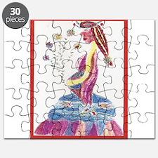 Pregnant Mermaid Puzzle