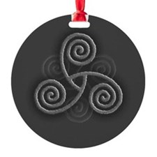 Celtic Triple Spiral Ornament