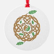 Celtic Nature Yin Yang Ornament